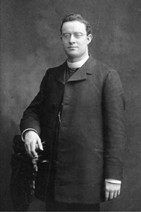 Archbishop Noll as a young man