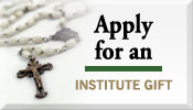 Apply for an Institute Gift